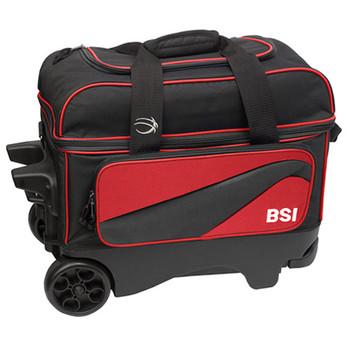 BSI Larger Wheel Double Roller Red/Black