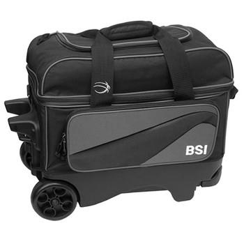 BSI Larger Wheel Double Roller Grey/Black