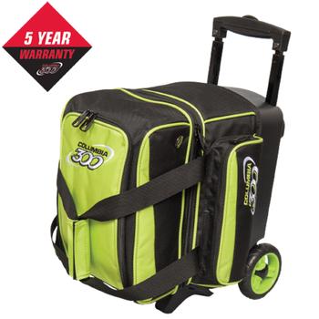 Columbia Icon 1 Ball Roller - Lime - Bowling Bag