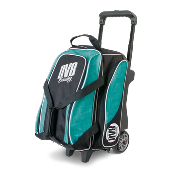 DV8 Circuit Double Roller - Teal - Bowling Bag