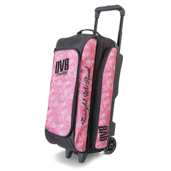 DV8 Freestyle Triple Roller - Pink Swirl - Bowling Bag