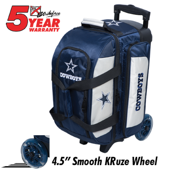 KR Strikeforce NFL Dallas Cowboys 2 Ball Roller Bowling Bag