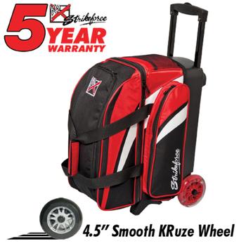 KR Strikeforce Cruiser Smooth 2-Ball Roller - Red/White/Black