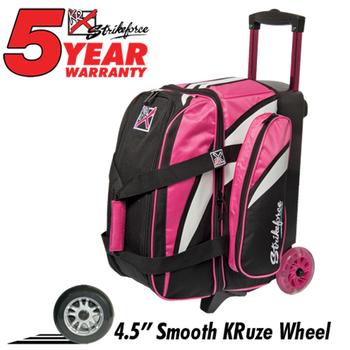 KR Strikeforce Cruiser Smooth 2-Ball Roller - Pink/White/Black
