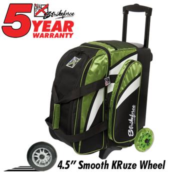 KR Strikeforce Cruiser Smooth 2-Ball Roller - Lime/White/Black