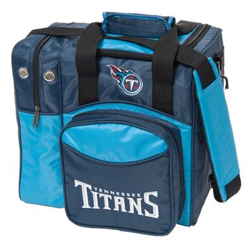 KR Strikeforce NFL Tennessee Titans 1 Ball Bowling Bag
