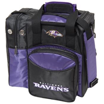 KR Strikeforce NFL Baltimore Ravens 1-Ball Bowling Bag
