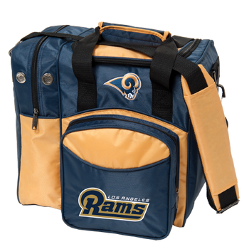 KR Strikeforce NFL Los Angeles Rams 1-Ball Bowling Bag