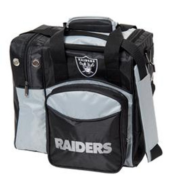 KR Strikeforce NFL Oakland Raiders 1 Ball Bowling Bag