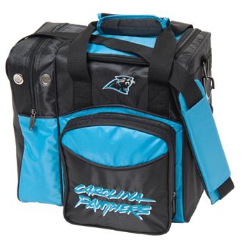 KR Strikeforce NFL Carolina Panthers 1-Ball Bowling Bag