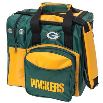 KR Strikeforce NFL Green Bay Packers 1-Ball Bowling Bag