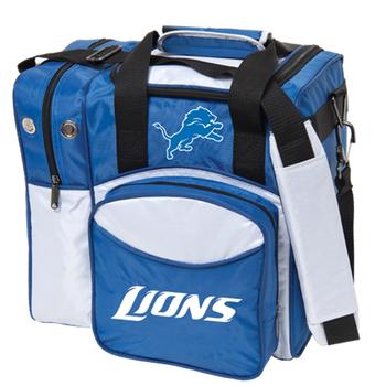 KR Strikeforce NFL Detroit Lions 1 Ball Bowling Bag