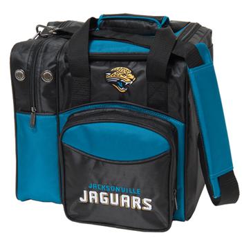 KR Strikeforce NFL Jacksonville Jaguars 1-Ball Bowling Bag