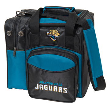 KR Strikeforce NFL Jacksonville Jaguars 1 Ball Bowling Bag