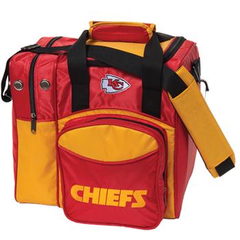 KR Strikeforce NFL Kansas City Chiefs 1-Ball Bowling Bag