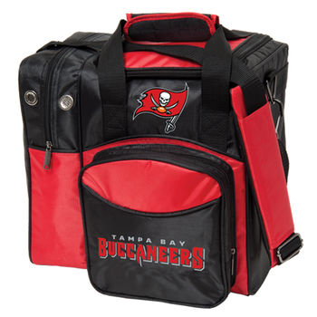 KR Strikeforce NFL Tampa Bay Buccaneers 1 Ball Bowling Bag