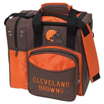 KR Strikeforce NFL Cleveland Browns 1-Ball Bowling Bag
