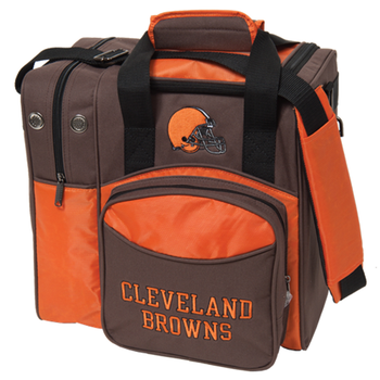 KR Strikeforce NFL Cleveland Browns 1 Ball Bowling Bag