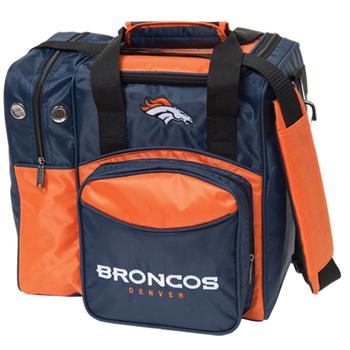 KR Strikeforce NFL Denver Broncos 1 Ball Bowling Bag