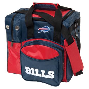KR Strikeforce NFL Buffalo Bills 1 Ball Bowling Bag