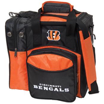 KR Strikeforce NFL Cincinnati Bengals 1 Ball Bowling Bag