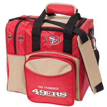 KR Strikeforce NFL San Francisco 49ers 1 Ball Bowling Bag