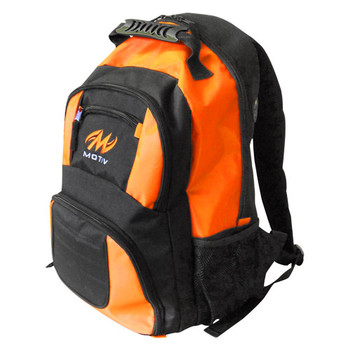 Motiv Zipline Backpack - Black/Orange