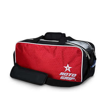 Roto Grip 2 Ball Tote Black/Red