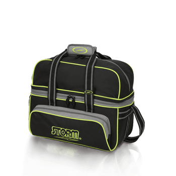 Storm 2 Ball Tote Deluxe - Black/Grey/Lime