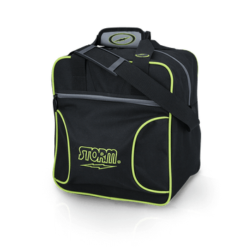 Storm 1 Ball Solo Bowling Bag Black/Lime
