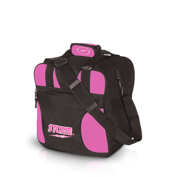 Storm 1 Ball Solo Bowling Bag Black/Pink