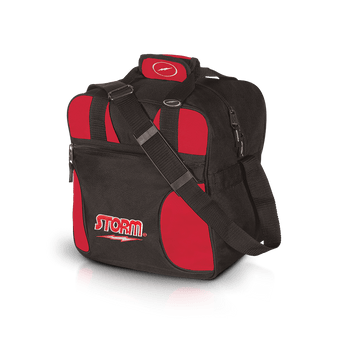 Storm 1 Ball Solo Bowling Bag Black/Red