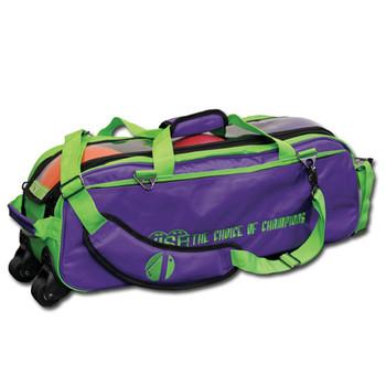 Vise 3 Ball Tote Roller Grape/Green