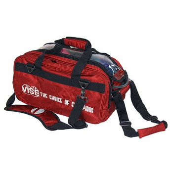 Vise 2 Ball Tote Roller Red