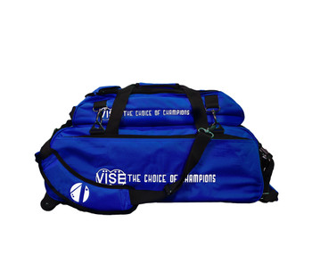 Vise 3 Ball Tote Roller with Shoe Pouch Blue