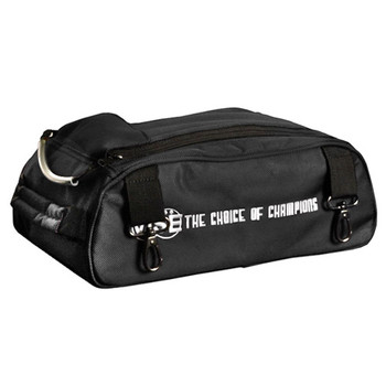 Vise 2 Ball Attachable Shoe Pouch Black