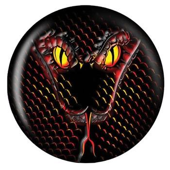 Brunswick Viz-A-Ball Snake Glow Bowling Ball front