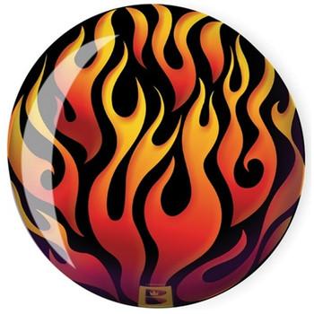 Brunswick Viz-A-Ball Flames Bowling Ball