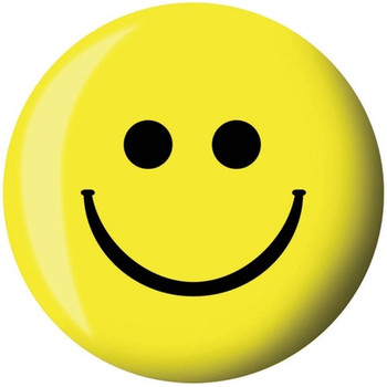 Brunswick Viz-A-Ball Smiley Face Bowling Ball front