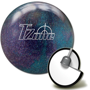 Brunswick Target Zone Deep Space Bowling Ball  and core