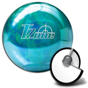Brunswick Target Zone Caribbean Blue Bowling Ball  and Core