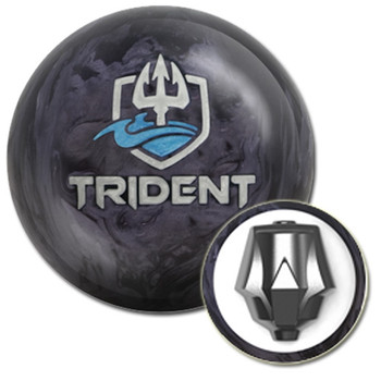 Motiv Trident Bowling Ball with core design