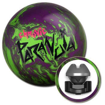 Motiv Chronic Paranoia Bowling Ball with core design