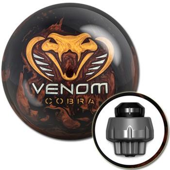 Motiv Venom Cobra Bowling Ball with core design