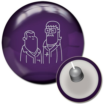 Radical Purple Spare Bowling Ball