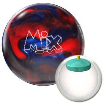 Storm Mix Bowling Ball Cherry/Royal