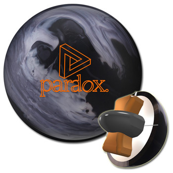 Track Paradox Black Bowling Ball and core