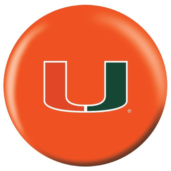 OTBB Miami Hurricanes Bowling Ball