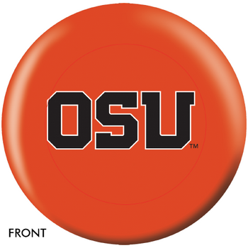 OTBB Oregon State Beavers Bowling Ball front