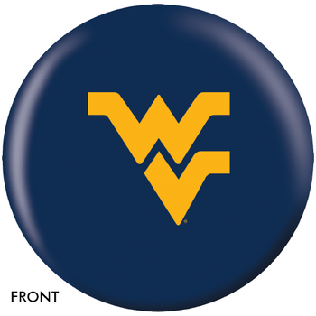 OTBB West Virginia Mountaineers Bowling Ball front